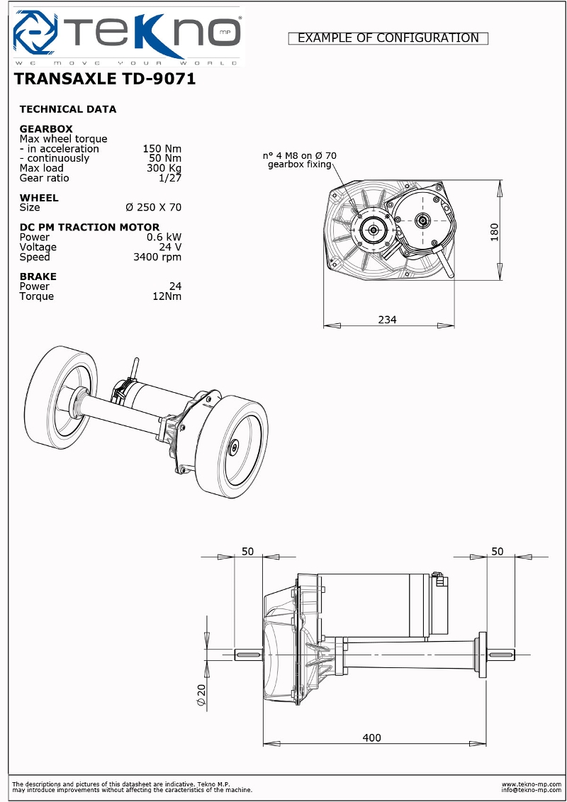 Transmissions with integrated mechanical differential for Dc traction motor pdf